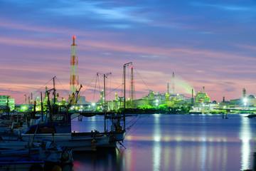 北九州工業地帯の夜景