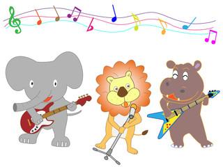 動物たちのコンサート。