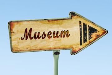 Schild 328 - Museum
