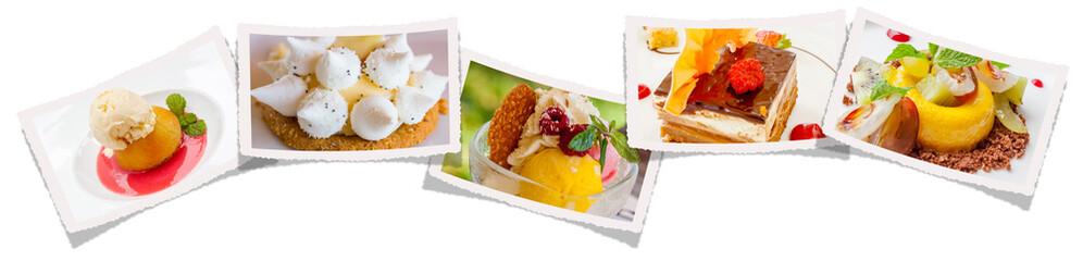 photos de desserts