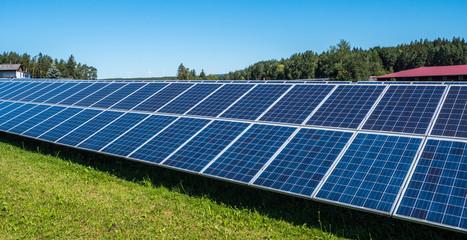 Ökostrom Solarzellen