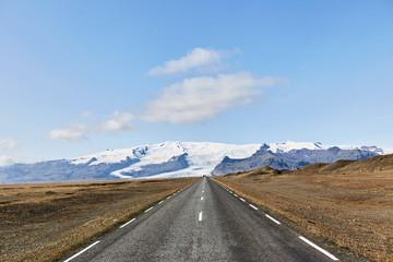The road to the iceberg