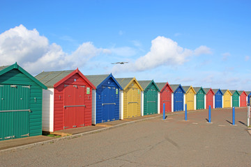 Beach huts at Dawlish Warren