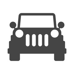Offroad SUV Car Icon