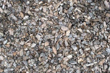 background of decorative mulch for landscaping