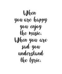 Enjoy Music Understand Lyrics