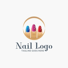 Nails Logo Design Free