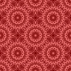 Perfect mandala. Decorative pattern in oriental style. It is vector illustration.