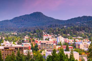 Eugene, Oregon, USA Skyline