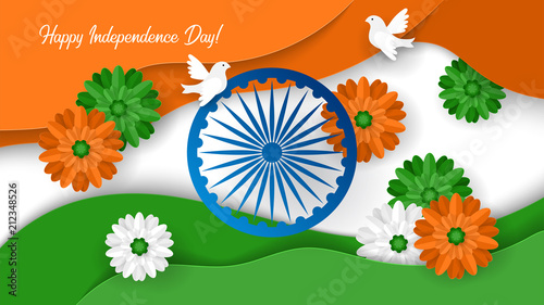 Happy Independence Banners Wishes Banners