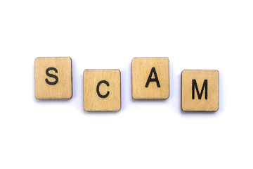 The word SCAM