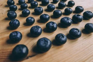 blueberry. fresh raw berries