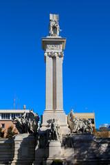 Cortes-Denkmal in Cadiz