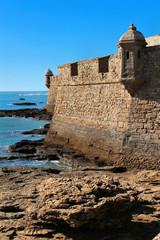 Kastell San Sebastian in Cadiz