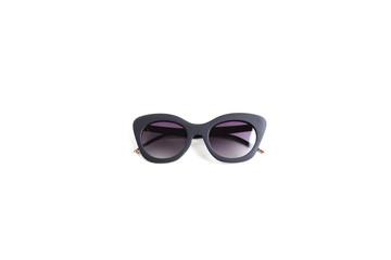 Female polarized sunglasses on white background, isolate.