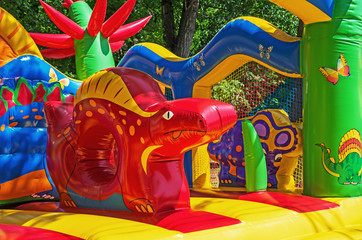 Kids trampoline inflatable