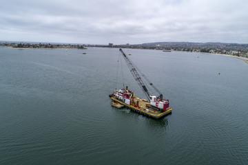 Dredging Barge California