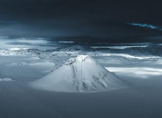 Icelandic winter.