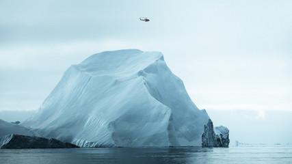 Iceberg scale.