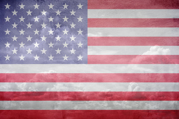 United States flag illustration
