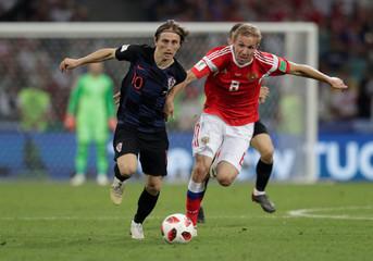 World Cup - Quarter Final - Russia vs Croatia