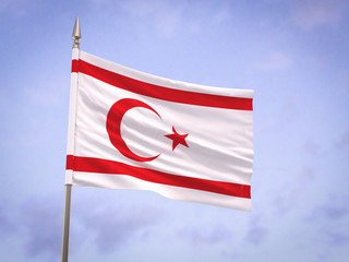 Flag of the Turkish Republic of Northern Cyprus