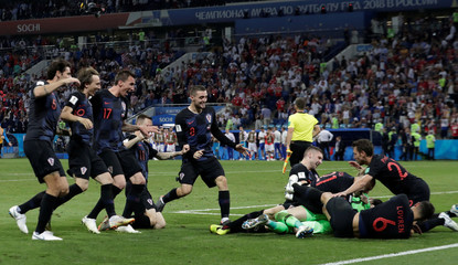 World Cup - Quarter Final - Russia vs Croatia