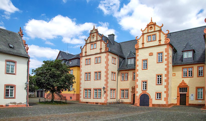 Wall Murals Burg Friedberg Hessen, Herrenhaus