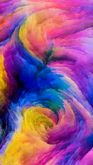 Advance of Colorful Paint
