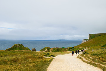 Jurassic Coast in Britain, Dorset.