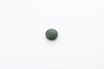 緑色の錠剤