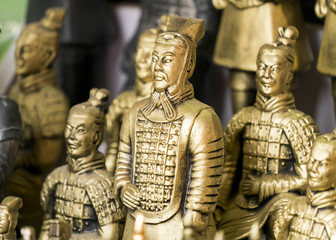 terracotta army figure in china