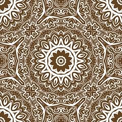Modern floral vector ornaments. Decorative flower mandala. vector illustration.