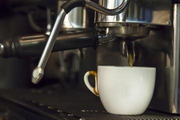 coffee machine in the pub