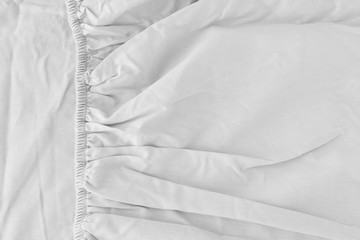 Texture of fabric is grey color background,Wavy folds of cloth