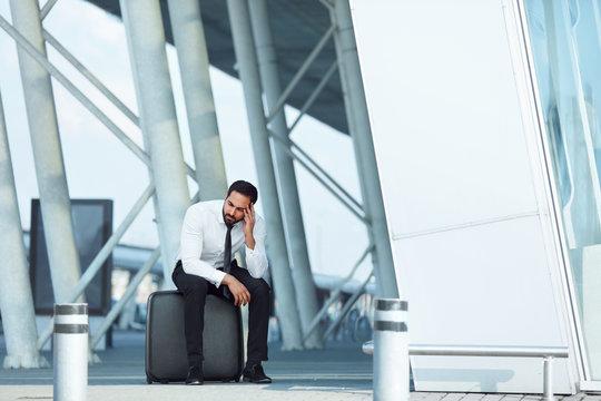 Business Man Missed Plane