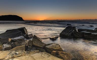 Rocky Seascape and Headland
