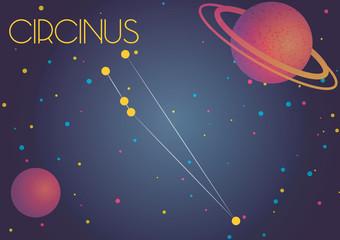 The constellation Circinus