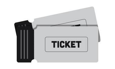 Ticket Icon Illustration