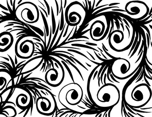 Grunge pattern. Abstract design. Vintage background. Vector.