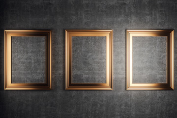 golden picture frames