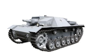 Mobile assault gun StuG III. Germany