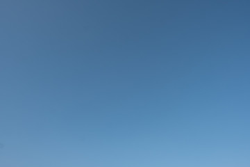 Cloudless Sky on a Summer Day