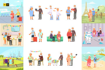 retiree for grandparents