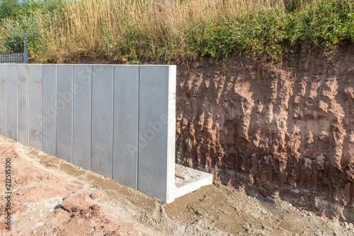 Turbo Stützmauer aus Mauerscheiben errichten