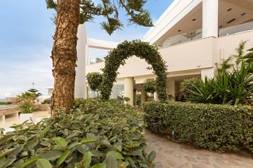 Modern new hotel resort