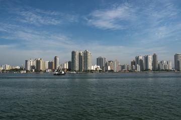 City of Guaruja, beach South America, Brazil, MORE OPTIONS IN MY PORTFOLIO