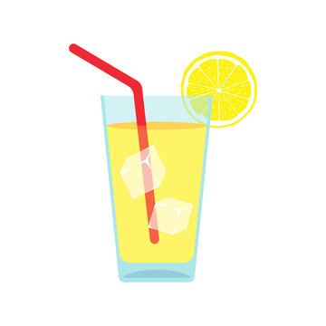 Lemonade. Vector.
