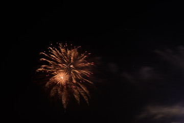 Fireworks on 4th of July
