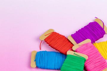 刺繍糸 リリアン糸